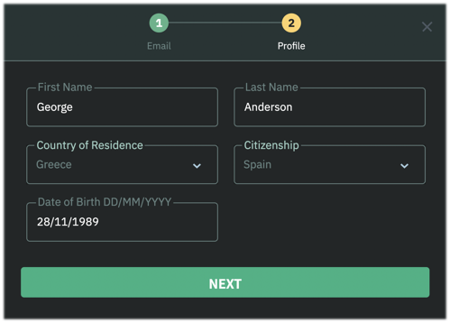 Level 1 Verification Status How-To. How to Change My Residence Country in Profile?