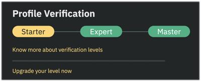 How do I verify my residential address, and get an Expert Verification Level?